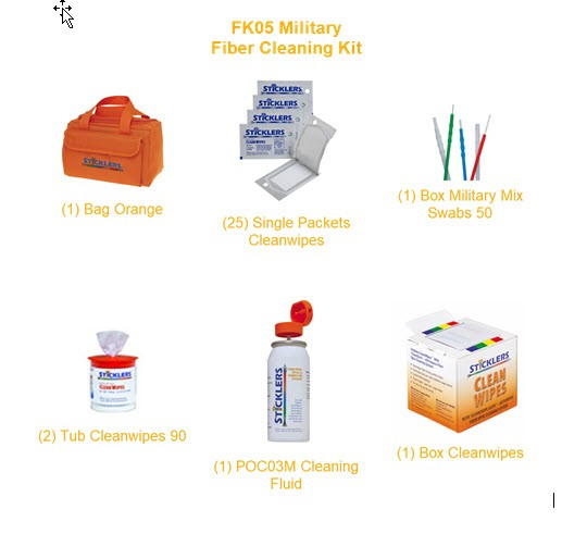 FK05 Fiber Optic Cleaning Kit