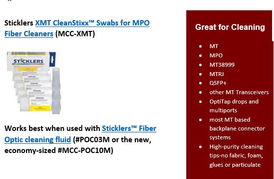 Cleanstixx XMT Swabs