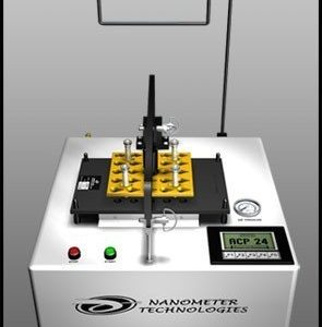 Automated Connector Polisher with Touchscreen Technology & ASR Automated Stub Removal