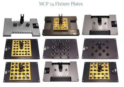 Fiber Optic Polishing Fixture Plates