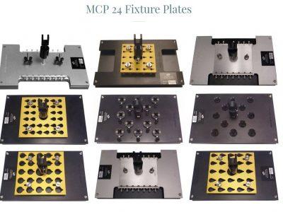 Fiber Optic Polishing Fixture Plates