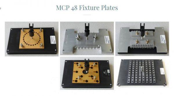 MCP48 Fixture Plates