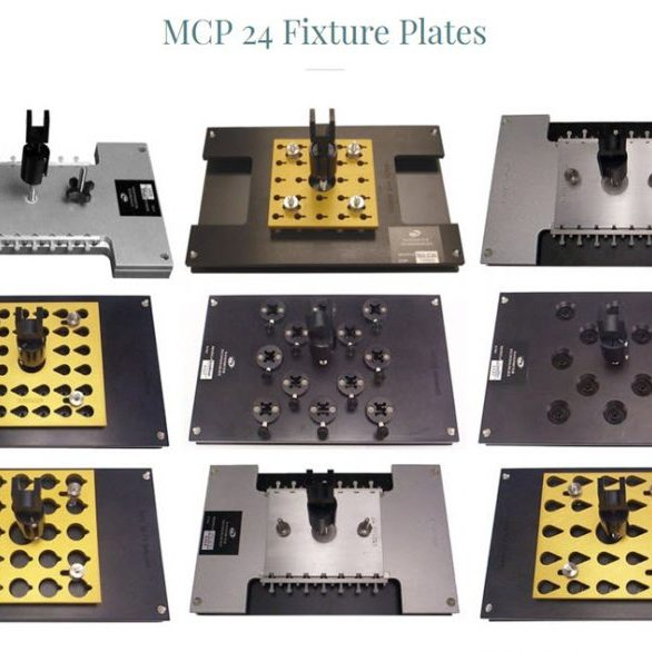 MCP 24 Fiber Optic Polishing Fixtiures